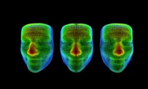 3D infrared recognition application presentation